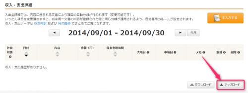 money-forward-mizuho-upload-button