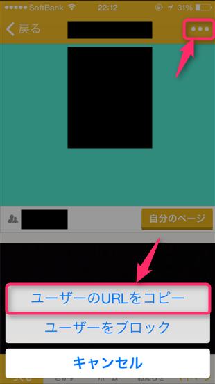 mixchannel-profile-url-tap-copy-user-url