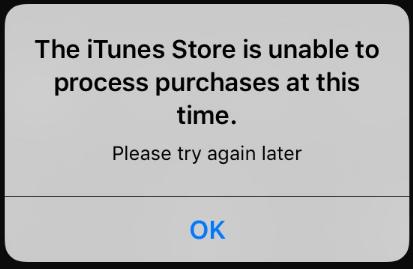 itunes store  失敗