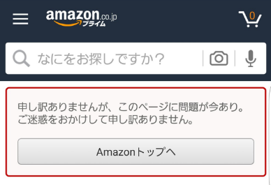 amazon-display-page-error