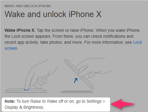 94e4b71128 iPhone Xがスリープ状態のときに画面をタップすると、それだけでスリープが解除されて(ディスプレイの電源が入って)、ロック画面が表示されてしまうことに気が付き  ...