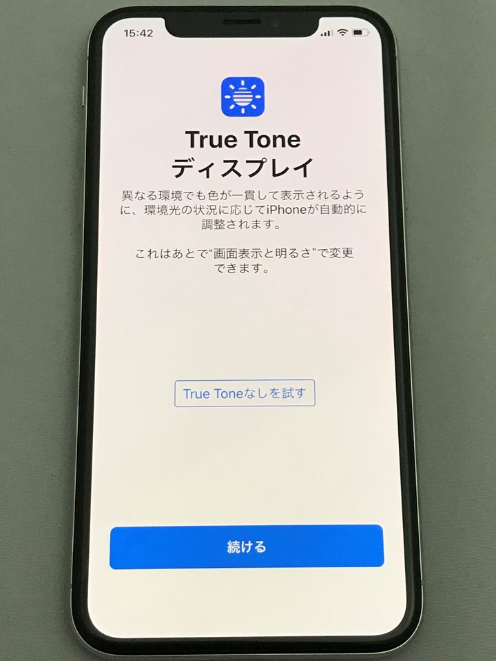 True Tone Iphone X