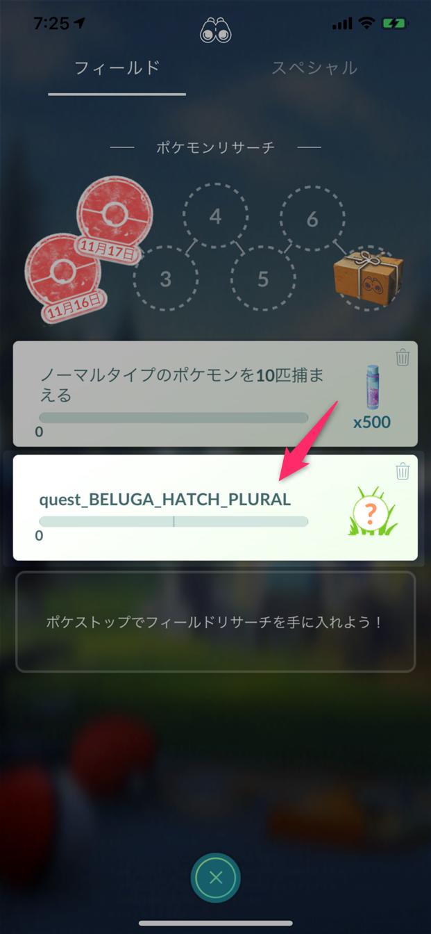 ポケモンgo「『beluga』って何?意味は?」について(リサーチタスク文字